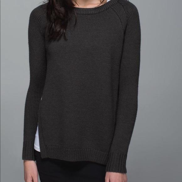 Lululemon Wool Sweater - Yin to You
